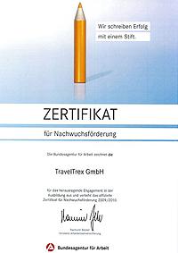 Zertifikat Nachwuchs 2009